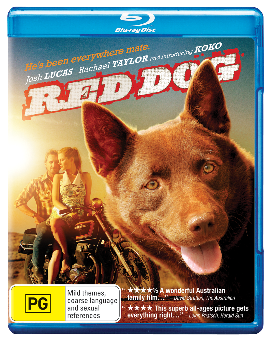 Red dog bluray giveaway
