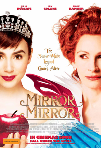Review mirror mirror popcorn junkie for Mirror 1 movie