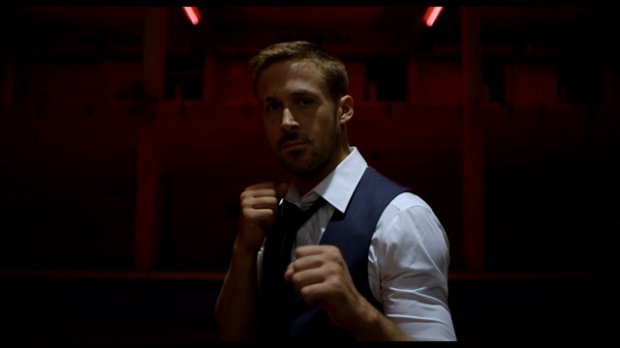 Ryan Gosling in a film still from Only God Forgives